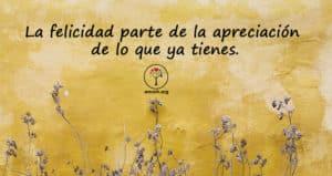 Felicidad y Gratitud
